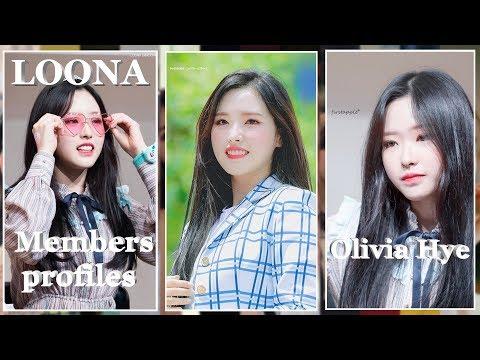 LOONA - Members profile - Olivia Hye (12th & last member)