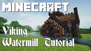 Minecraft Tutorial: Viking Watermill