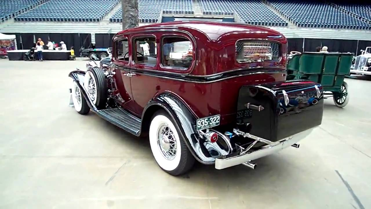 1932 cadillac 370b v12 seven passenger sedan youtube. Black Bedroom Furniture Sets. Home Design Ideas