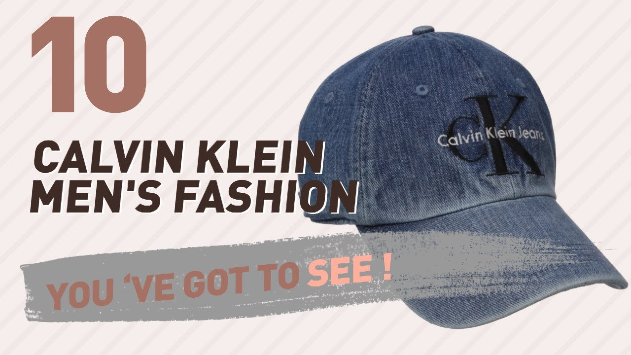 8fb6cb6d75e03 Calvin Klein Cap For Men    New   Popular 2017 - YouTube