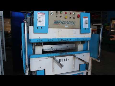 Premier CNC Hydraulic Press Brake 25 Ton x 4' Stock #8233HP