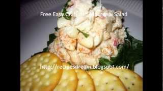 Super Easy Easy Crab And Macaroni Salad