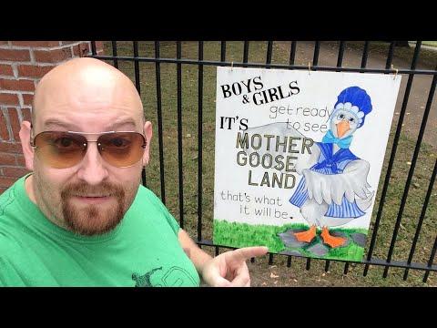 LIVE ABANDONED AMUSEMENT PARK - Mother Goose Land Canton Ohio