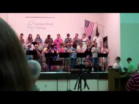 Cannon River STEM School Spring Concert Lion Sleeps Tonight