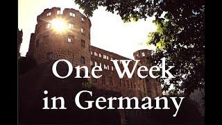 One Week in Germany (Ramstein, Kaiserslautern, Frankfurt, Landstuhl, Heidelberg)