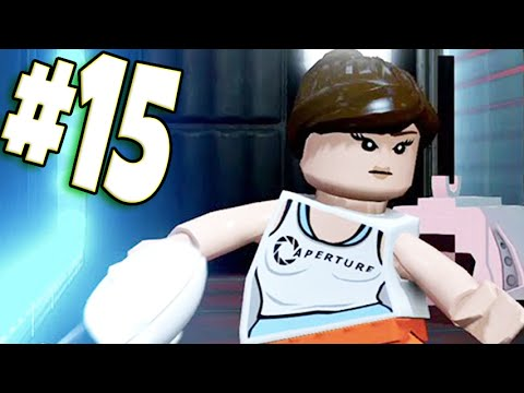 lego dimensions part 15 portal wii u walkthrough youtube. Black Bedroom Furniture Sets. Home Design Ideas