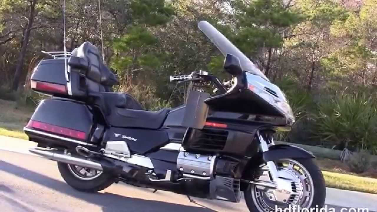 used 1998 honda goldwing motorcycles for sale florida alabama youtube. Black Bedroom Furniture Sets. Home Design Ideas