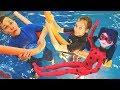 Челлендж в Ква-Ква парке — Видео для детей — Аквапарк в Москве