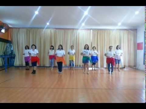 Gejolak Asmara line dance (Nurjannah) , demo by RnF thursday class