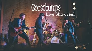 Party Band - Goosebumps Swing Party Band and Wedding Band Live Showreel