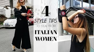 4 Style Tips To Steal From Italian Women - Fashion Guide  by Eva Redson