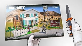 "Nuketown Unboxing (Mega Bloks) Black Ops 4 ""Blackout"" Xbox One X Solo Victory"