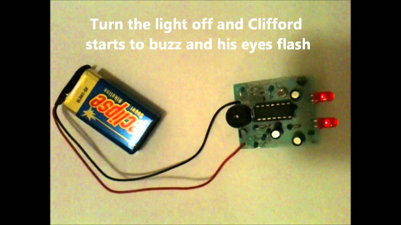 hight resolution of clifford the cricket