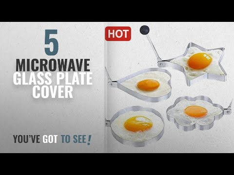 Top 10 Microwave Glass Plate Cover [2018]: GKP Products ® Stainless Steel Kitchen Fried Egg