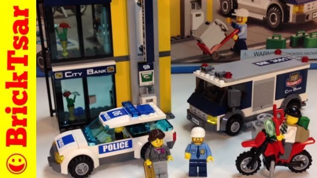 Lego City 3661 Bank Money Transfer Youtube