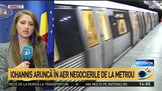 Ce se întâmplă cu greva de la metrou, după ce Klaus Iohannis a refuzat nominalizarea Liei Olguț