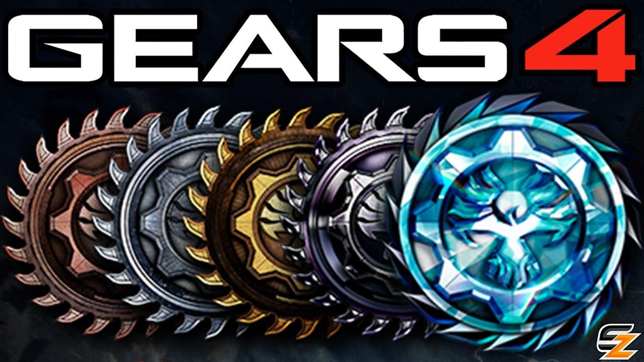 Gears Of War 4 Ranking System Explained Ranks Progressions Bar