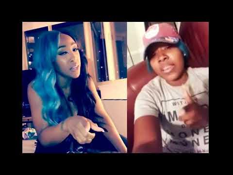 Brittney F  Taylor shades Bianca Bonnie rap freestyle! Says #LHHNY Season 8 star is a wack rapper!