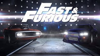 Rocket League - Fast and Furious Cars Nissan Skyline GTR and Dodge Charger RT DLC Trailer