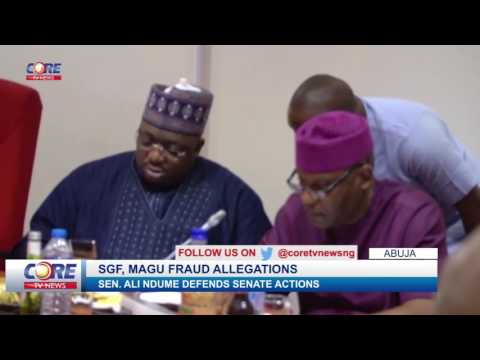 NDUME ON MAGU'S CONFIRMATION...watch & share...!