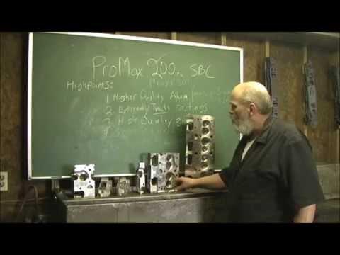 ProMaxx Maxx 200 NEW SBC Performance Cylinder Head part 2 0