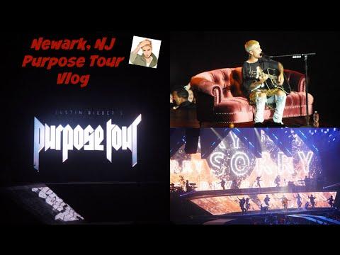 Justin Bieber Purpose Tour Vlog: Newark, NJ