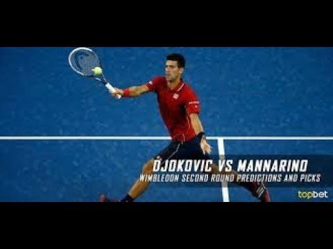Novak Djokovic vs Adrian Mannarino ATP Cincinnati 2018 Live Stream