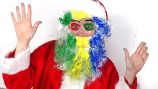 Santa Got Surprise For Tory and Lika | Fun Face Paint Lesson for Kids