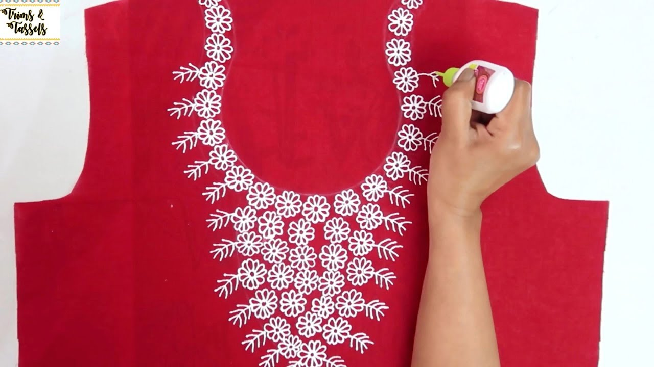 Easy Quick Embroidery Designs For Kurtis Suits Blouse Red Suit Design Latest Designer Kurti Youtube,Design Your Own Phone Case Template