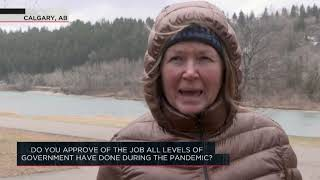 Do you approve of the job all levels of government have done during the pandemic? | OUTBURST