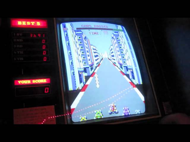 SEGA TURBO ARCADE GAME REVIEW