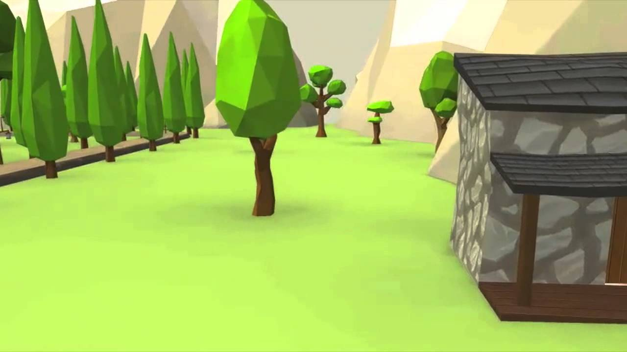 Unity Asset 9 Cartoon Characters : Cartoon forest farm pack for unity asset store trailer