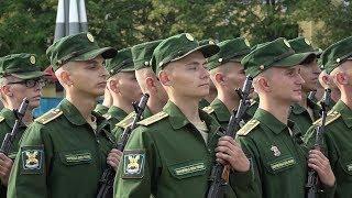 Торжественный ритуал приведения к Военной присяге 31 августа 2019 г.