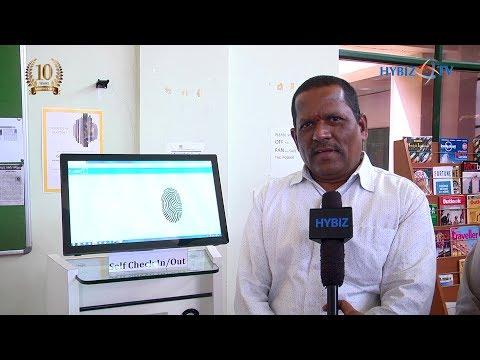 NITHM Director Chinnam S Reddy | RFID Technology Library Automation | Hybiz TV