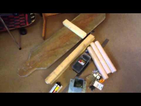 DIY wooden dummy