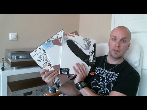 Unboxing the Led Zeppelin deluxe edition remastered vinyl I, II & III