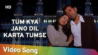 Tum Kya Jano Dil Karta Tumse | Aashiq (2001) | Bobby Deol, Karisma Kapoor | Romantic Song