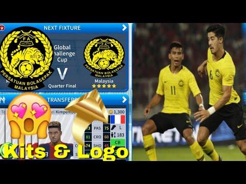 Dream League Soccer 2019 - How To Make Malaysia National Team Kits & Logo