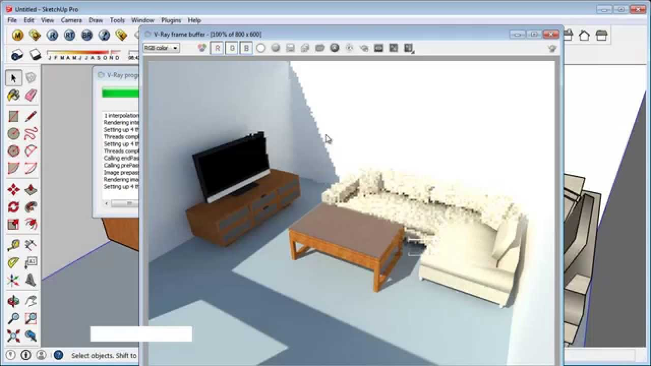 Google Sketchup Extension 3D Warehouse Tutorial - YouTube