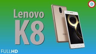 Lenovo K8 - 3GB RAM + 32GB Storage | 4000 mAh Battery | Octa Core Processor