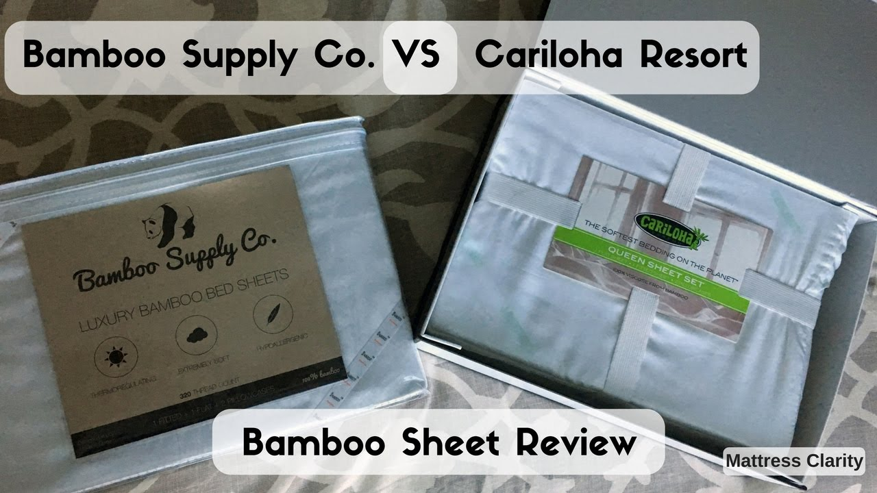 Bamboo Supply Co. VS Cariloha Resort: Bamboo Sheet Review