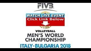 Japan vs Belgium - FIVB Volleyball Men's World Championship 2018 - LIVE STREAM