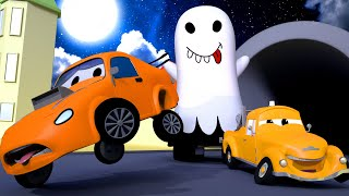 เอ็ดการ์เป็นผี 🎨 ร้านทาสีของทอม เจ้ารถลาก l การ์ตูนรถบรรทุกสำหรับเด็ก Cartoon for Kids