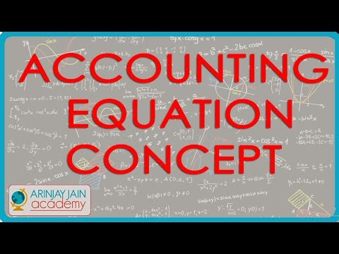 Accounting Equation concept - Class 11 Accounts - YouTube