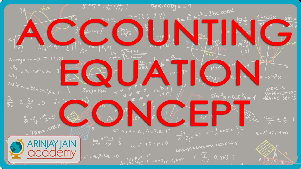 Accounting Equation concept - Class 11 Accounts