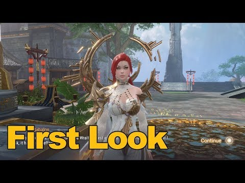 Perfect World Mobile Gameplay First Look - MMOs.com