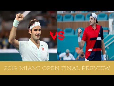 Roger Federer vs John Isner 2019 Miami Open Final | PREVIEW