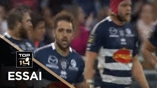 TOP 14 - Essai Paul ABADIE (SUA) - Agen - Bayonne - J6 - Saison 2019/2020