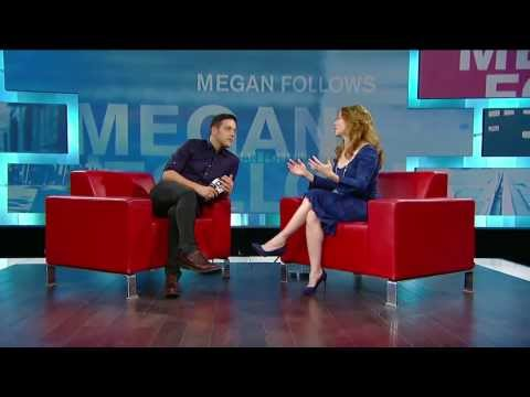 Megan Follows on George Stroumboulopoulos Tonight: INTERVIEW