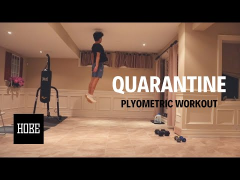 Keep Your VERTICAL JUMP!  Great Quarantine Plyometric Workout